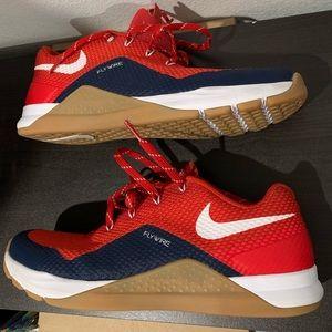 Nike Red Arizona Wildcats Metcon Repper Shoes SZ 8